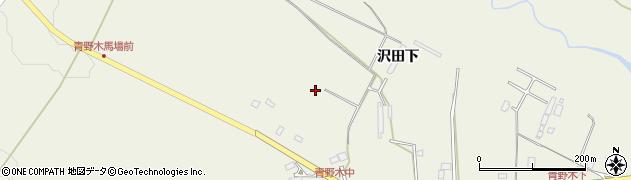 宮城県仙台市青葉区芋沢(沢田下)周辺の地図