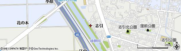 宮城県多賀城市東田中土手前周辺の地図