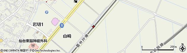 宮城県仙台市宮城野区岩切(江向北)周辺の地図