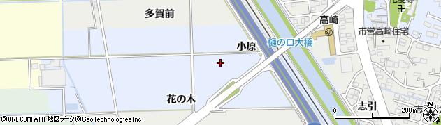 宮城県多賀城市高崎小原周辺の地図