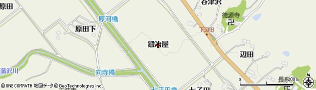 宮城県仙台市青葉区芋沢(鍛冶屋)周辺の地図
