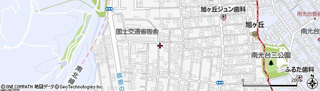 宮城県仙台市青葉区旭ケ丘周辺の地図