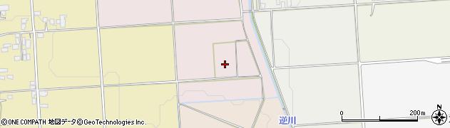 山形県山形市銅谷口周辺の地図