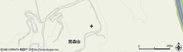 宮城県仙台市青葉区芋沢(黒森山)周辺の地図