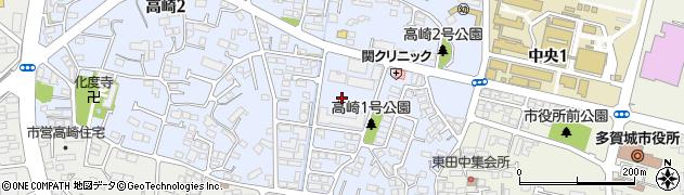 東北スチール社宅周辺の地図