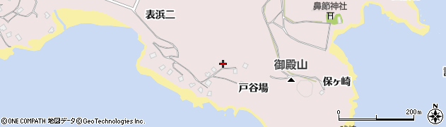 宮城県宮城郡七ヶ浜町花渕浜戸谷場周辺の地図