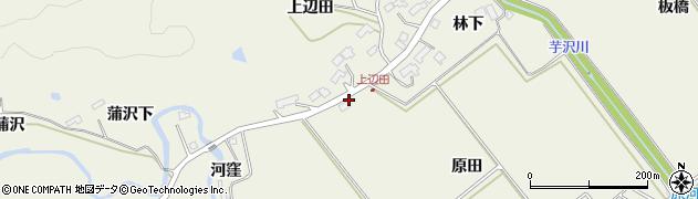 宮城県仙台市青葉区芋沢(原田浦)周辺の地図