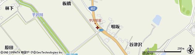 宮城県仙台市青葉区芋沢(中田下)周辺の地図