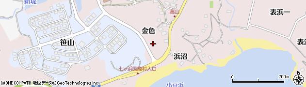 宮城県宮城郡七ヶ浜町花渕浜金色周辺の地図