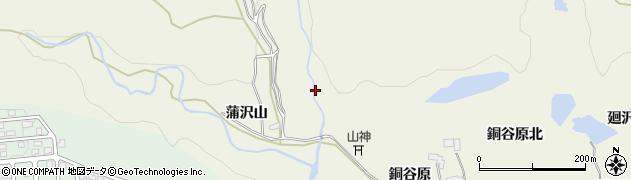宮城県仙台市青葉区芋沢(北沢)周辺の地図
