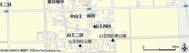 宮城県多賀城市山王山王四区周辺の地図