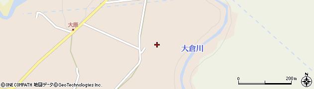 宮城県仙台市青葉区大倉(東沢目)周辺の地図