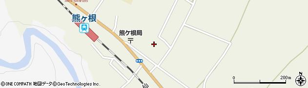 宮城県仙台市青葉区熊ケ根(檀の原二番)周辺の地図