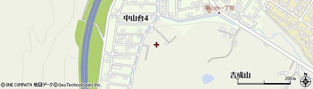 宮城県仙台市青葉区芋沢(吉成)周辺の地図
