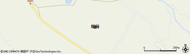 宮城県仙台市青葉区芋沢(畑前)周辺の地図