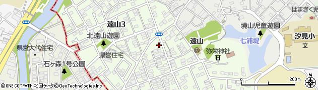 宮城県宮城郡七ヶ浜町遠山周辺の地図