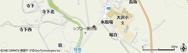 宮城県仙台市青葉区芋沢(水門堀下)周辺の地図