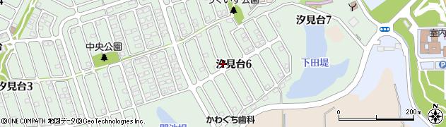 宮城県宮城郡七ヶ浜町汐見台周辺の地図
