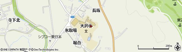 宮城県仙台市青葉区芋沢(長坂)周辺の地図
