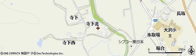 宮城県仙台市青葉区芋沢(寺下北)周辺の地図