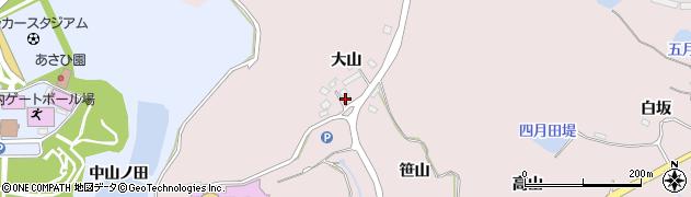 宮城県宮城郡七ヶ浜町花渕浜大山周辺の地図