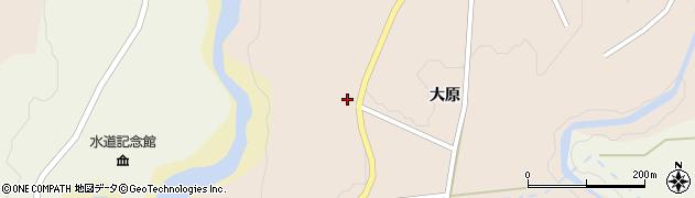 宮城県仙台市青葉区大倉(清水前)周辺の地図