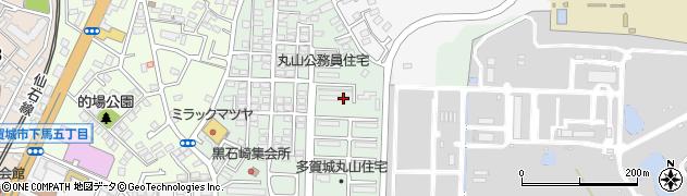 東北管区警察学校住宅周辺の地図
