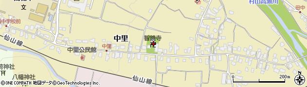 智鏡寺周辺の地図