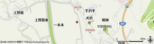 宮城県仙台市青葉区芋沢(一本木東)周辺の地図