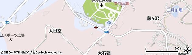 宮城県宮城郡七ヶ浜町吉田浜西君ヶ岡周辺の地図