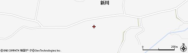 宮城県仙台市青葉区新川(北野尻)周辺の地図