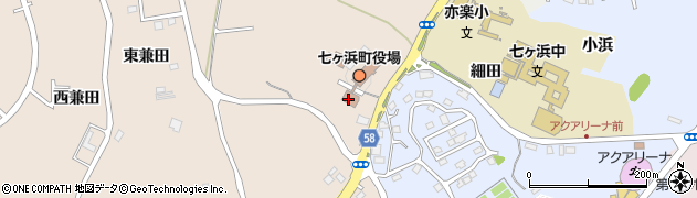 宮城県宮城郡七ヶ浜町東宮浜丑谷辺周辺の地図