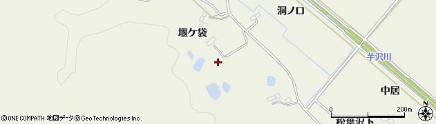 宮城県仙台市青葉区芋沢(堰ケ袋)周辺の地図