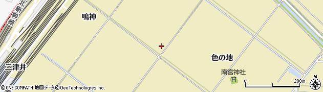 宮城県多賀城市南宮色の地周辺の地図