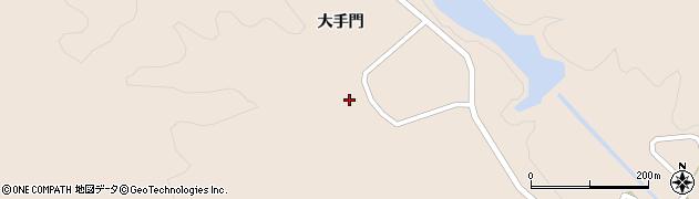 宮城県仙台市青葉区大倉(根地木)周辺の地図