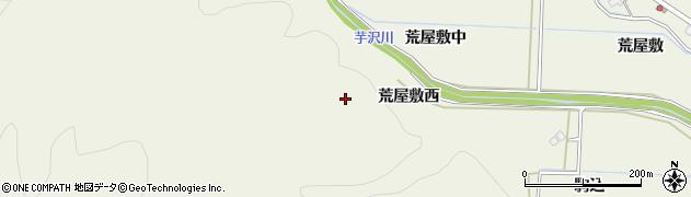 宮城県仙台市青葉区芋沢(荒屋敷西)周辺の地図
