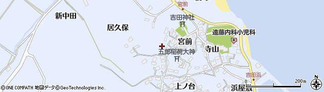 宮城県宮城郡七ヶ浜町吉田浜宮前周辺の地図