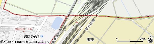 宮城県多賀城市南宮上新田周辺の地図