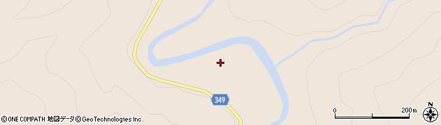 猿田川周辺の地図