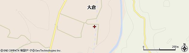 宮城県仙台市青葉区大倉(古館)周辺の地図