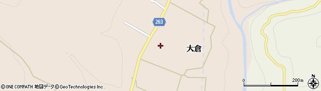 宮城県仙台市青葉区大倉(下倉道下)周辺の地図