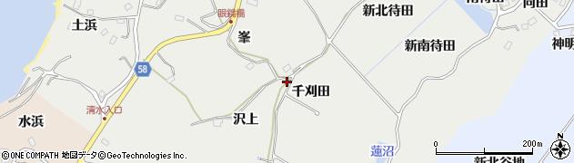 宮城県宮城郡七ヶ浜町代ヶ崎浜沢上周辺の地図