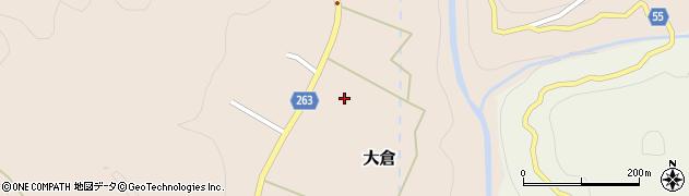 宮城県仙台市青葉区大倉(下倉道合)周辺の地図