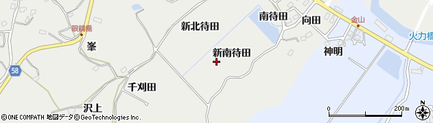 宮城県宮城郡七ヶ浜町代ヶ崎浜新南待田周辺の地図