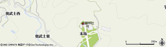 大國神社周辺の地図
