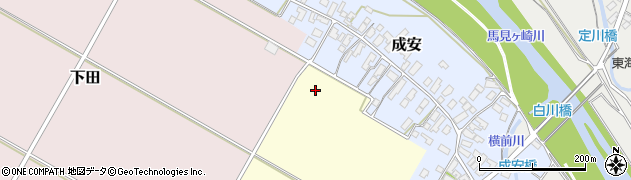 山形県山形市中田周辺の地図