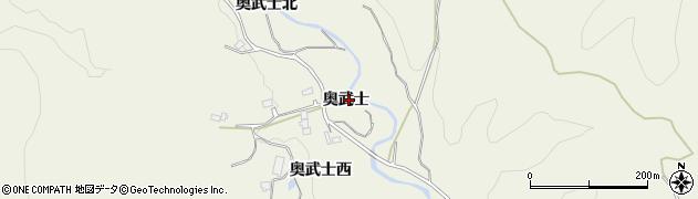 宮城県仙台市青葉区芋沢(奥武士)周辺の地図