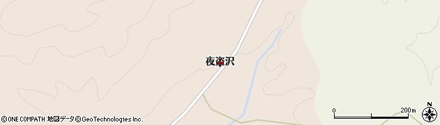 宮城県仙台市青葉区大倉(夜盗沢)周辺の地図