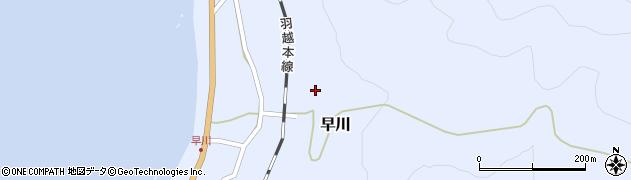 早川寺周辺の地図