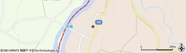 山形県西村山郡大江町三郷甲125周辺の地図